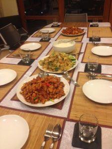Khun Am's amazing chicken & cashew!