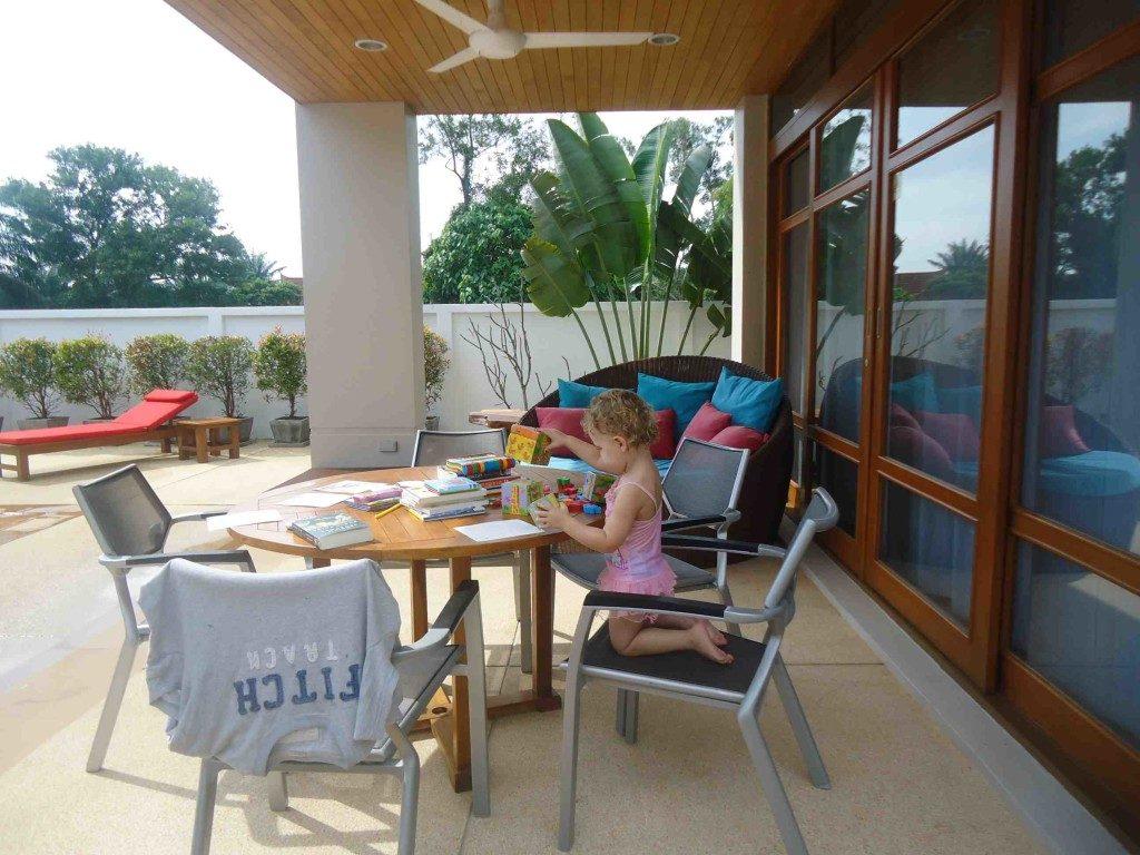 Loch Palm Villa Sitting Area