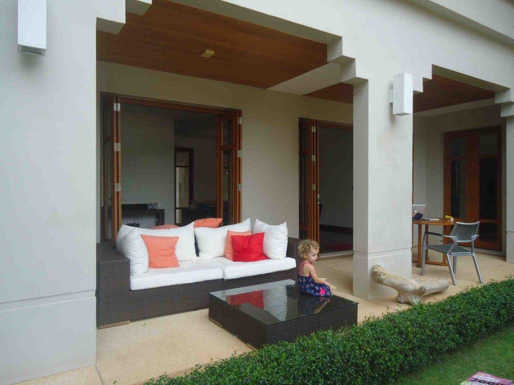 Loch Palm Villa Sitting Area 2