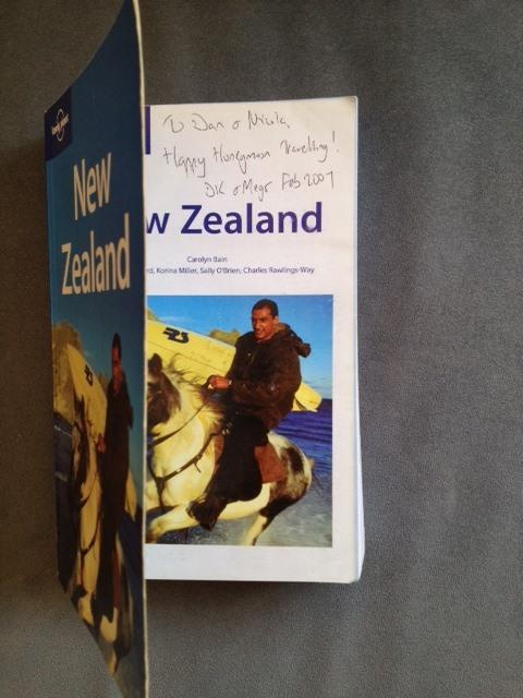 New Zealand guidebook