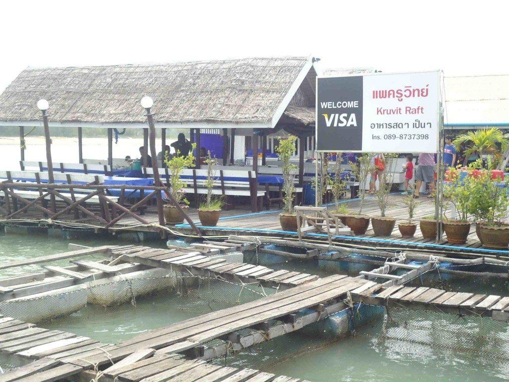 Phuket - floating restaurants