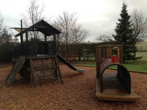 Calcot Manor - small outdoor playground