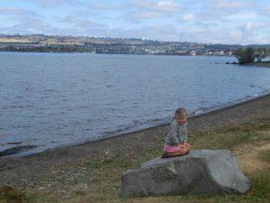 Lake Taupo Poser