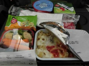 Qantas Jetconnect kids meal