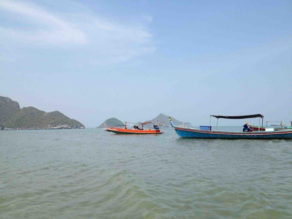 Hua Hin - boats