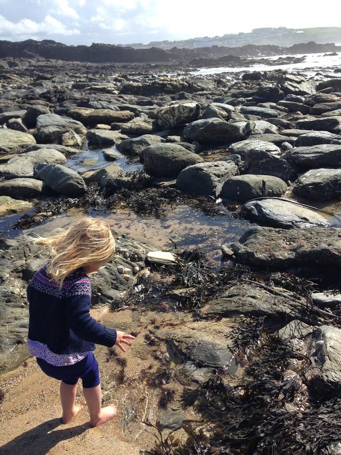 Cornwall - rock pools