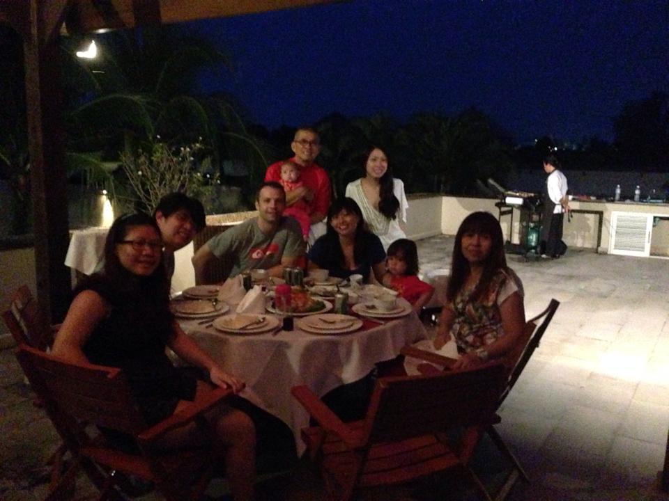 BBQ in the villa