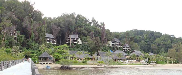 Gaya Island Resort Panorama
