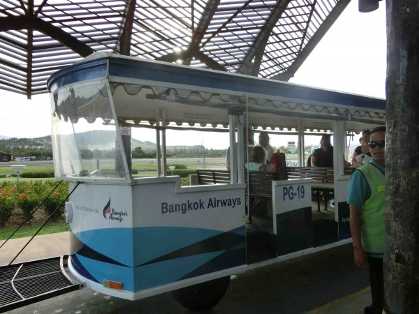 Koh Samui Airport - Trolley - Shrink