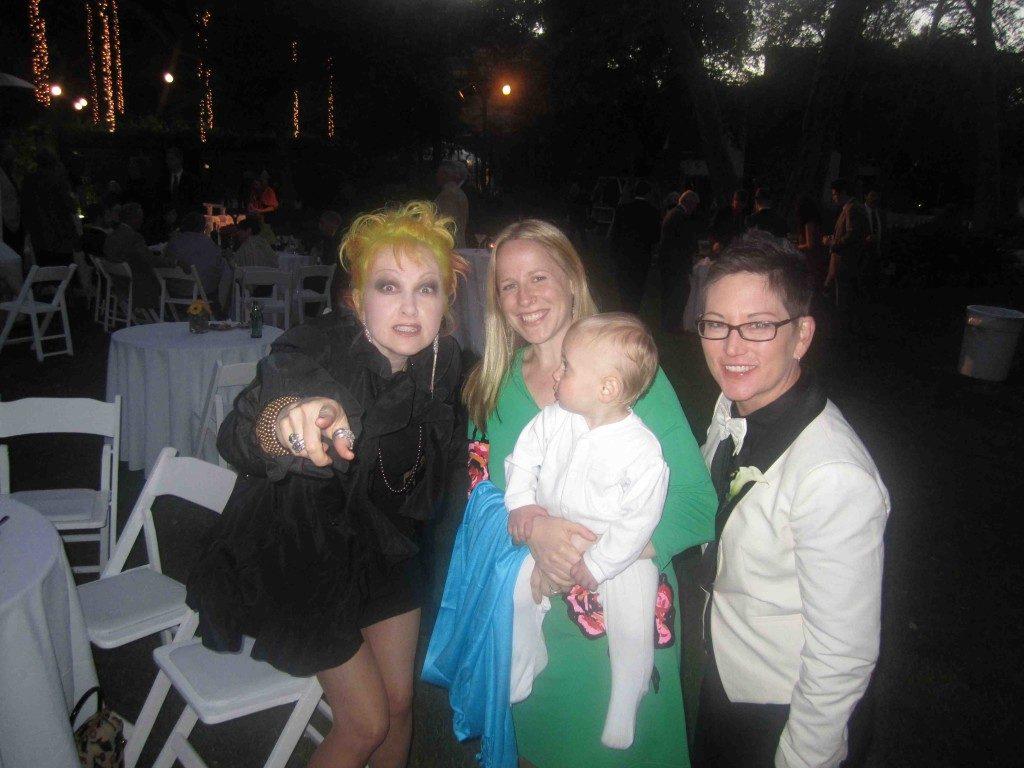 Meeting celebs at an LA wedding!