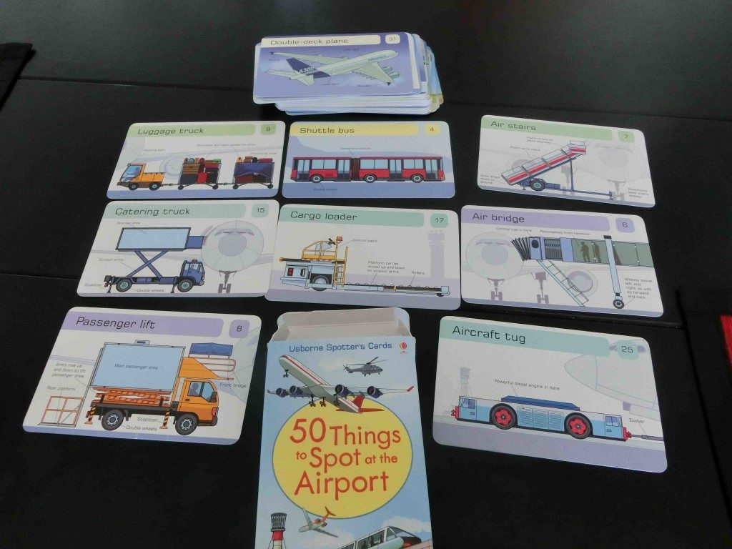 Usborne - 50 things to spot at airport