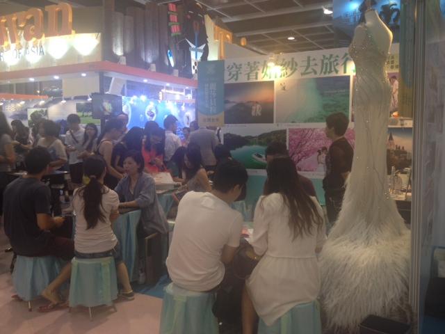 The wedding exhibitors