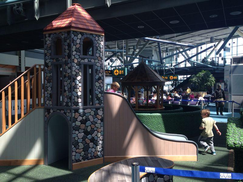 Heathrow Kids Play Area - Terminal 2