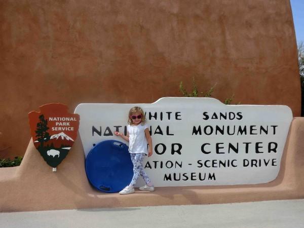 White Sands Visitor Center - Shrink