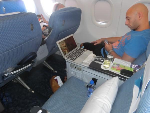 Bangkok Airways - chair - shrink
