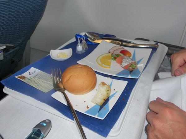 Bangkok Airways - dinner - shrink
