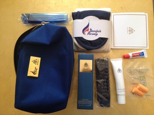 Bangkok Airways Amenity Pack