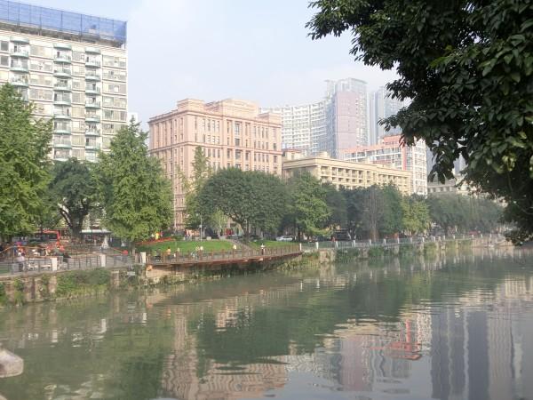 Chengdu River Walk - Shrink