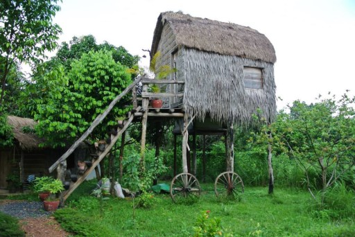Kep - Bungalow at Khmer Hands