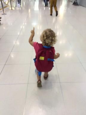 Stejkos at airport