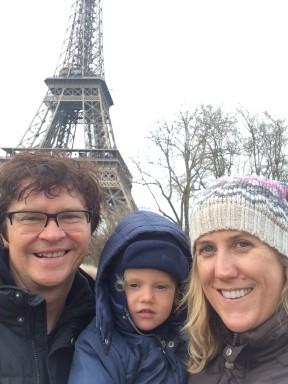 The Stejkos in Paris