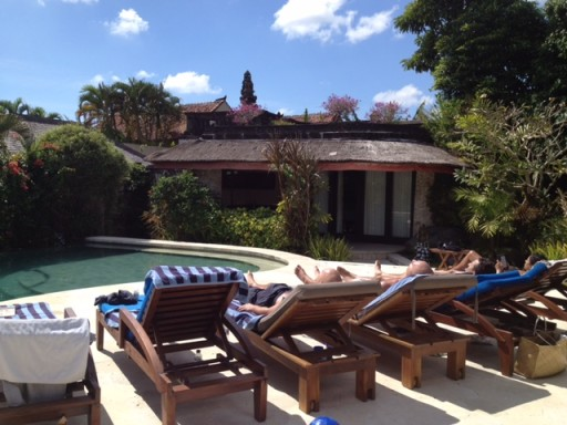 Bali Villa Sunloungers