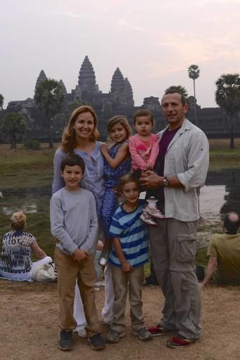 Siem Reap - family