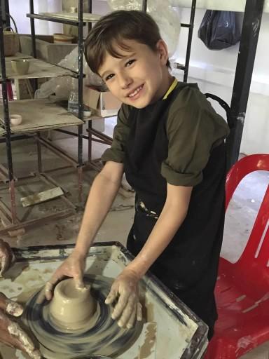 Siem Reap - pottery