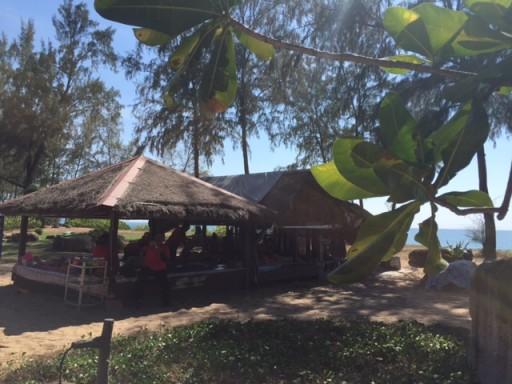 JW Marriott - Massage huts