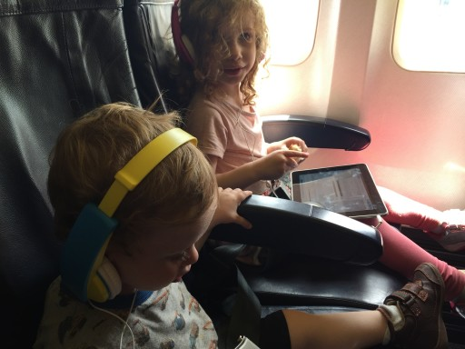 Sam and Abbie on Ryanair