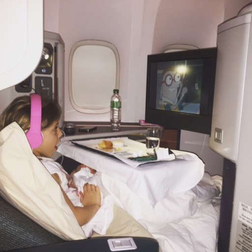 Louisiana - Cathay Pacific Business Class