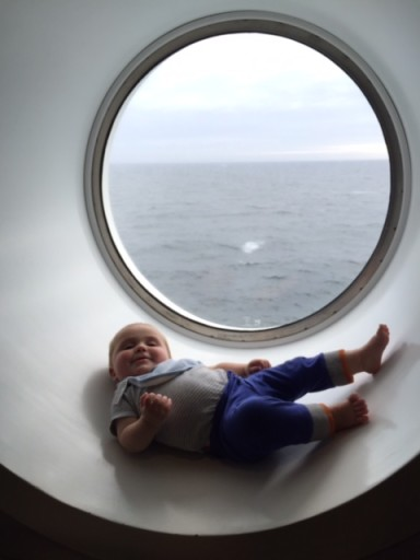 Brittany ferry window