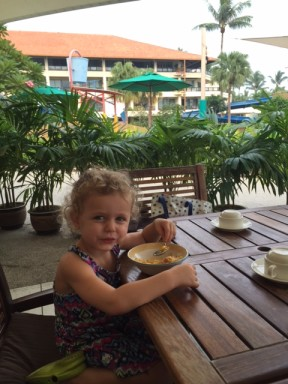 Tanjung Aru - Breakfast
