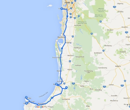 How To Get To Margaret River From Perth