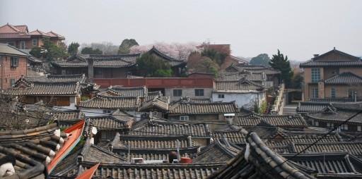 Rooves of Bukchon Hanok Village