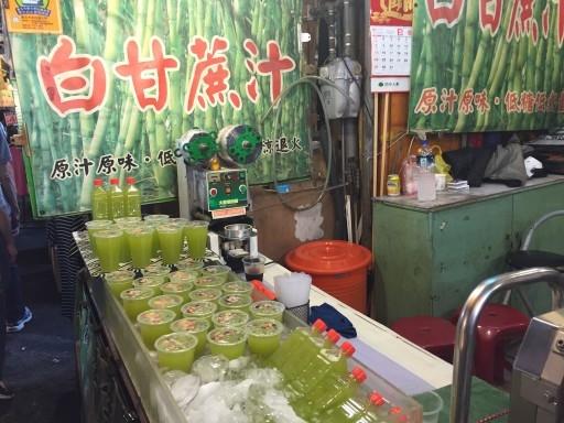 Raohe sugar cane juice